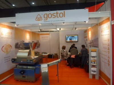 Gostol - exhibitor at Südback Messe, Stuttgart, Germany