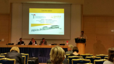 Tecnopool and Gostol at Symposium in Portorose, 30th May,  2017